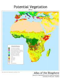 North America Biome Map by Center For Sustainability And The Global Environment Sage