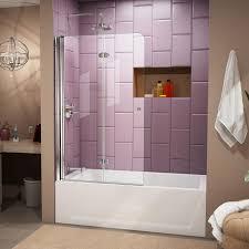 bathroom mesmerizing folding tub shower doors 136 aqua fold