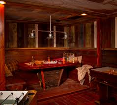 Barn Wood Basement Rustic Light Fixtures Basement Rustic With Corrugated Metal