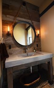 Cement Bathroom Sink - concrete bathroom sinks that make a strong statement without any