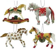 trail of the painted ponies 2009 ornament set painted