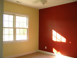 pictures of rooms painted with two colors home combo