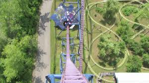 Six Flags Locations Bizarro With New On Board Audio Front Seat On Ride Hd Pov Six