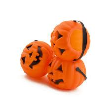 mini plastic jack o lantern halloween pumpkin party candy buckets