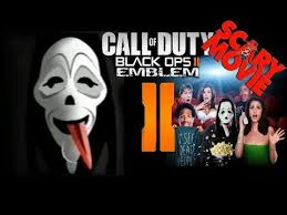 Scream Wazzup Meme - black ops 2 emblem scary movie mask cod tutorial youtube