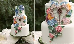 wedding cake extract secret garden wedding cakes party cakes cake magazine