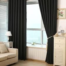 Black Out Curtain Panels Virginia Blackout Weave Grommet Curtain Panels Set Of 2