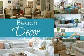 theme decorating beached themed living room decor blissfully domestic