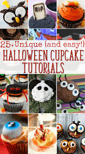 Unique Halloween Cakes Unique Halloween Cupcake Ideas 25 Recipes With Tutortials