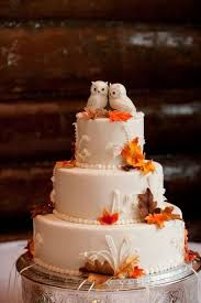 fall themed wedding 45 fall wedding cakes that wow deer pearl flowers