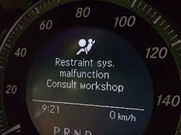 Srs Light On Airbag Light Car Airbag Dash Warning Lights
