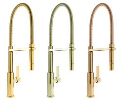 Polished Brass Kitchen Faucet Gold Tone Kitchen Faucet Finishes For Residential Pro