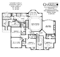 southern style home floor plans harbormont hall house plan classic revival plans
