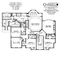2 colonial house plans harbormont house plan revival plans