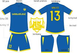 desain kaos futsal jepang seragam baju kelas bola futsal uin 2011 luciffer inc