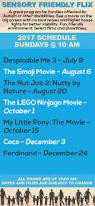 sensory friendly movies o u0027neil cinemas movie theater