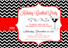 christmas cocktail party invitations reduxsquad com