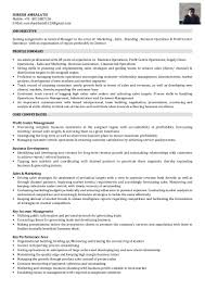 Factory Worker Resume I Am Looking For A Position Of General Manager Marketing Sales Sa U2026