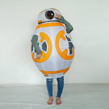 inflatable halloween costume for children kids star wars robot bb