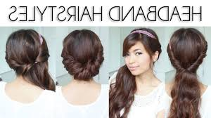 cute easy hairstyles for straight hair for cute simple