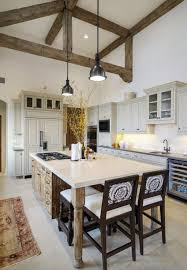 Rustic Mediterranean Kitchen Mediterranean Style Home With Rustic Yet Elegant Interiors On Lake