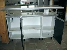 cuisine bar table bar rangement cuisine table haute de cuisine avec rangement