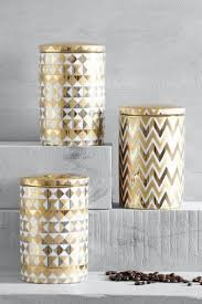 buy kitchen storage gold storage jars storagejars from the next uk