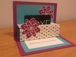 pop up gift card holder tutorial