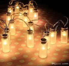 led fairy lights battery operated led string light dailyart vintage clear glass jar led string lights