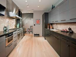 new metal kitchen cabinets kitchens trendy galley kitchen on espresso kitchen cabinets