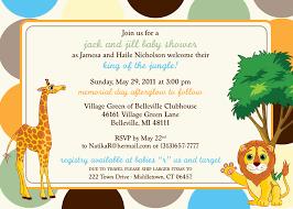 jungle baby shower invitations u2013 gangcraft net