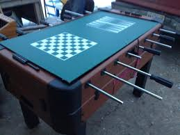 air hockey combo table foosball air hockey table combo 4 in 1 recreational pool bid