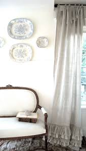 White Ruffled Curtains by Ruffled Curtains How Cute Windows And Lighting Pinterest