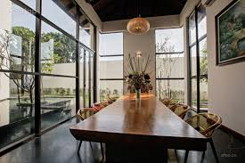 asian dining room bungalow a modern tropical mansion
