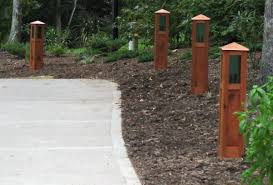 Arts And Crafts Style Outdoor Lighting by Driveway And Landscape Lights Uno Woodworks