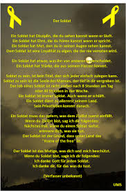 soldaten sprüche uschi mario schulz gedichte gebete für soldaten