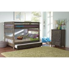 Bunk Beds  Twin Over Full L Shaped Bunk Bed Double Over Double - L shaped bunk beds twin over full