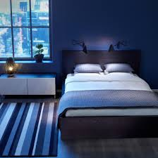 ikea bedroom in blue decor home design furniture and interior