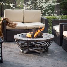 outdoor fabulous inexpensive gas fire pits steel outdoor fire