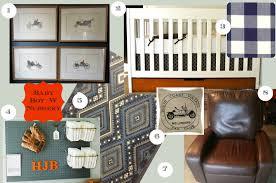 Vintage Baby Boy Crib Bedding by Wedded Whittaker Baby Boy Nursery Inspiration