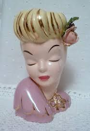 Mauve Home Decor 80 Best Kitsch Vintage Heads Mayrosevintage Blogspot Com Images On