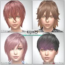 sims 4 kids hair kijiko hair for kids vol 1 kijiko