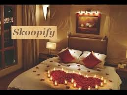 wedding night flower bed decoration ideas romantic honeymoon