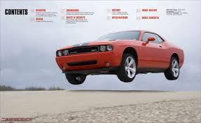 Dodge Challenger 2008 - dodge challenger srt8 media brochure