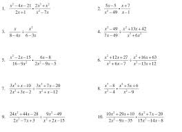 rational expressions worksheet multiplying and dividing rational
