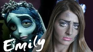 halloween zombie bride makeup la sposa cadavere corpse bride emily tim burton u0027s coll