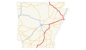 Arkansas Map Us U S Route 63 In Arkansas Wikipedia
