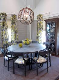 dining room exciting six lights orb chandelier for elegant dining
