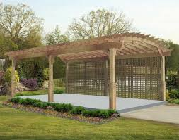 pergola swing plans red cedar arched garden free standing pergolas pergolas by