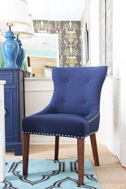 Blue Upholstered Dining Chairs New Navy Blue Upholstered Dining Chairs 81 On Home Kitchen